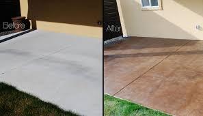 diy concrete patio ideas diy concrete stain patio streamrr com