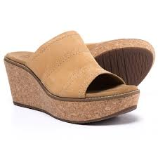clarks aisley lily wedge sandals for women save 59