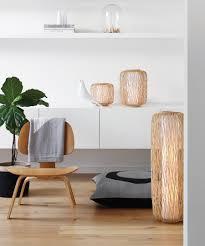 Wicker Table Lamp Florida Wicker Floor Lamp In Natural