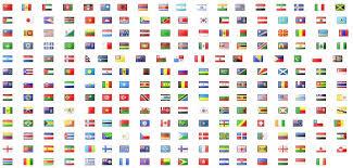 all countries flag lehmunade clip library