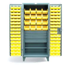 Yellow Metal Storage Cabinet Storage Bins Industrial Metal Storage Cabinets With Bins