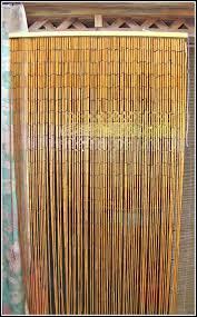 Beaded Doorway Curtains Painted Bamboo Door Curtains Uk Integralbook Com