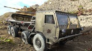 rc adventures 8x8 military capo tatra u0026 tiger tank on the attack