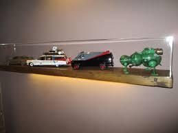 acrylic display wall shelf