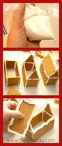 homemade holiday easy diy graham cracker gingerbread houses