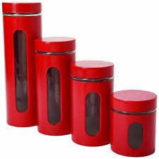 canister sets for kitchen stainless steel kitchen canister sets ebay