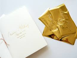 gold wedding programs november s projects jolly edition illustration and stationery