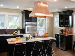 Medium Brown Kitchen Cabinets Black Kitchen Cabinets Pictures Ideas U0026 Tips From Hgtv Hgtv