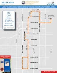 Phoenix Airport Map Terminal 4 by City Of Scottsdale Trolley