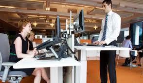 Standing Or Sitting Desk Imagine With Orange Saliha Work