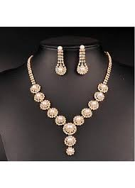 jewelry sets buy discount in stock beautiful copper wedding jewelry sets with