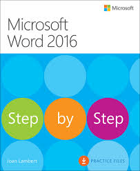 microsoft word 2016 step by step microsoft press store