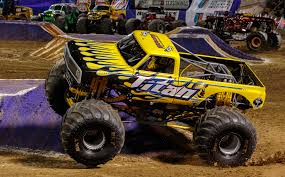 videos of monster trucks crashing titan monster trucks wiki fandom powered by wikia