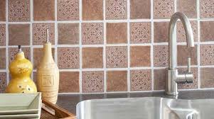 beautiful art self stick backsplash tiles peel and stick kitchen