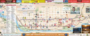 Skagway Alaska Map by Whitehorse Map