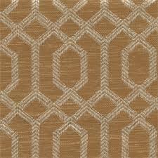 Geometric Fabrics Upholstery Parquet Nutmeg Brown Geometric Upholstery Fabric