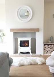 Simple Fireplace Designs by Log Burner Fireplace Cosy Sheepskin Rugs Home And Interior