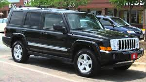 2007 jeep commander sport youtube