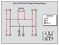 electric ezgo golf cart wiring diagrams golf cart pinterest