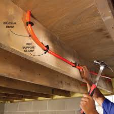 plumbing with pex tubing pipes plumbing and house