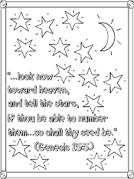genesis 15 5 coloring lorain county free net children u0027s chapel