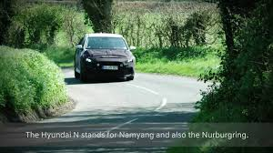 2018 hyundai i30 n screenshots from teaser video motor1 com photos