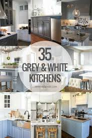 gray and white kitchen cabinets ideas remodelaholic grey and white kitchen cabinet ideas