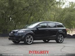 Audi Q7 Night Black - 2015 audi q7 3 0t quattro s line for sale in albuquerque nm