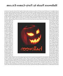Free Printable Halloween Activities Coloring Pages Kids