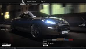 peugeot home rcz test driver peugeot is html5 ready for rich video