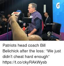 Bill Belichick Memes - memes patriots head coach bill belichick after the loss we just
