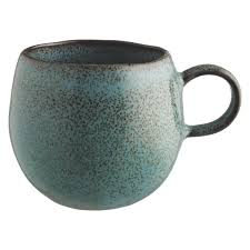 Buy Coffee Mugs Olmo Turquoise Speckled Mug Turquoise Organic Shapes And Kitchens