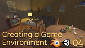 creating a game environment in blender and unity 04 blender 3d
