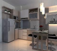 desain kitchen set minimalis modern design interior kitchen set apartment surabaya by akinteriors on