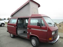 volkswagen westfalia 2016 vw vanagon camper for sale in sf bay area