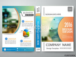 brochure templates adobe illustrator vector brochure magazine modern flyers cover book report design