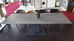 calligaris echo extending table echo table calligaris cement grey grey legs calligaris dining