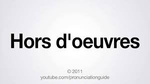 How Do You Pronounce Wainscoting How To Pronounce Hors D U0027oeuvres Youtube