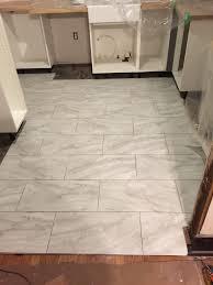 Installing Vinyl Tile How To Install Vinyl Tile Flooring Alyssamyers White Marble Floor Tile