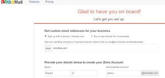 Free Email Addresses For Businesses by Create Free Business Email Id Using Zoho Mail In 5 Mins