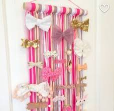bow holders hair bow organizer hair clip holder hair fringe wall decor toddler
