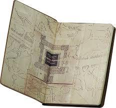 Harry Potter Map Mar178539 Harry Potter Marauders Map Journal Previews World