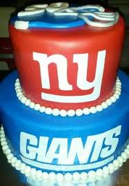 nfl ny giants grill cake nfl homegating football party