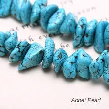 real turquoise necklace images Aobei pearl turquoise beaded statement personalized necklace for jpg
