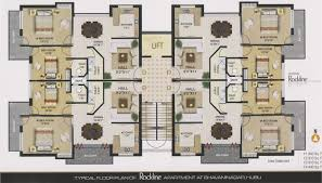 3 Bedroom Flat Floor Plan by Modren 3 Bedroom Apartment Floor Plans India 2 Bedroombijius A And