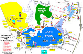 Boston Walking Map by Horn Pond Map