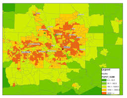 County Map Of Texas Dallas Texas Usa Map Modern City Map Dallas Texas City Of The Usa