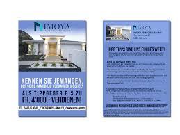 Immobilie Verkaufen Immobilien Flyer Flyer Design Designenlassen De
