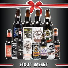 gift baskets free shipping stout gift basket free shipping 4 22oz 8 12 oz