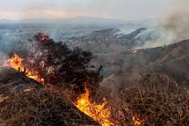 Wildfire History by Largest Wildfire In Los Angeles History Forces Hundreds To